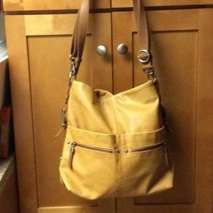 The Sak Large Sanibel Tan Tote Shopper Bag